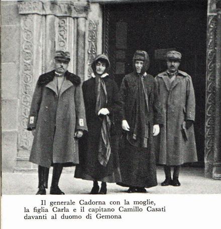 26 Maggio 1916, il Generale Cadorna scrive a casa