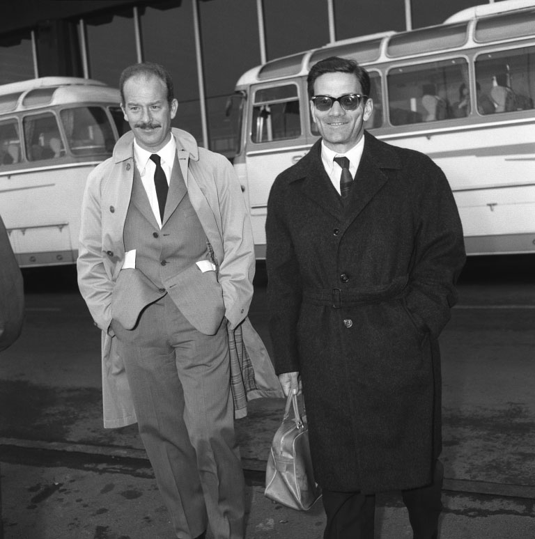 12 Maggio 1963, Pier Paolo Pasolini ad Alfredo Bini